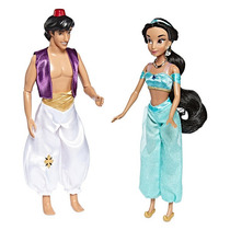 Set Especial Princesa Jazmin Y Aladdin Disney Collection