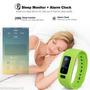 Bluetooth V4.0 Pulsera Elegante Podómetro Dormir Calorías
