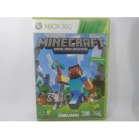 Minecraft X360 Edition Jogo Original Xbox Física 100% Pt.