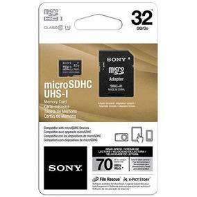 Cartão De Memória Sony Micro Sd Classe 10 - 32gb 70mb/s