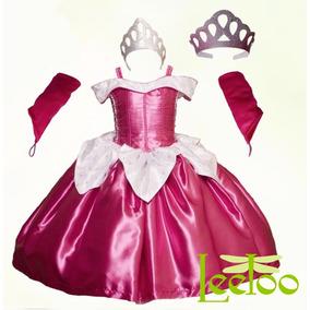 Vestido Aurora Princesa Disfraz Bella Durmiente