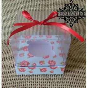 Caixa Para Cupcake - Arquivo De Corte Para Silhouette