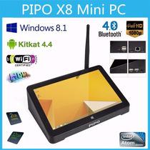 Mini Pc Windows Android Pipo X8 Quadcore Novo Promoção