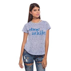 Franela Azul Shoe Addict Saints Clothes