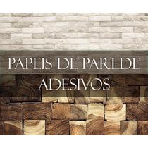 Papel De Parede Adesivo - Madeira, Pedra, Canjica, Infantis