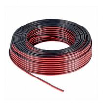 Cable Para Parlante Bafle 2x0.50mm X Metro Rojo/negro