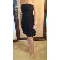 Vestido Negro Super Sexy,straples