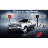 Antena Amplificada Tv Digital Automotivo C/booster 25dbi