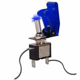 Chave Botão Caça Led Azul Painel Som Turbo Strobo Luz Painel