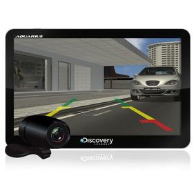 Gps Automotivo Aquarius Discovery 7pol Tv Digital E Câm. Ré