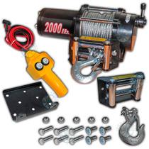 Malacate Electrico A Control Remoto 2000 Lb 900 Kg Palermo
