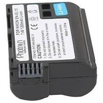 Bateria En-el15 P/ Nikon D7000 D800 D7100 Mb-d12