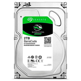 Hd Seagate Desktop 2tb 2000gb 64mb Sata 3 6gb/s 7200rpm
