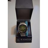 Reloj Edox Hombre Suizo Automático Circa 1970 N.o.s