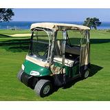 Carro De Golf De Conducción Recinto 2 Plazas