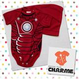 Body Super-heróis Bebê Com Capa - 100%algodão Pronta Entrega