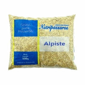 Alpiste Nutripássaros 500g Kit C/ 5 Uni