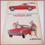 Dante42 Publicidad Antigua Retro Auto Honda S600 1965
