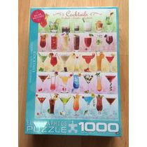Rompecabezas Cocktails Cocteles 1000 Piezas.
