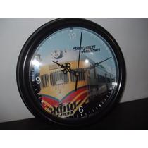 Ferrocarriles Argentinos Reloj De Pared 24 Cm Coche Fiat