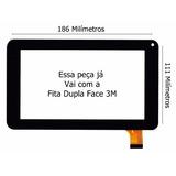 Tela Vidro Touch Tablet Dl I-style Tp258 Tp268 1603 L350