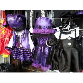 Disfraz Catrina, Pirata, Calaca, Merlina, Para Bebes