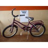 Bicicleta Rodado 20 Nena Diseño Soy Luna Hello Kity Violetta
