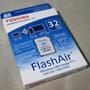 Memoria Toshiba Sd 32gb Flash Air Ill Wireless Con Tienda