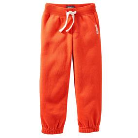 Oshkosh Bgosh - Pantalon Naranja C/puño Para Niño - Talla:5t