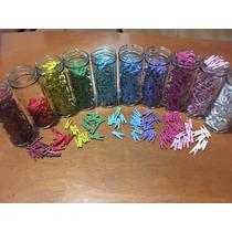 Pinzas De Madera De Colores Decoración Recuerdos 20pz