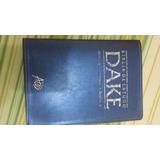Bibilia De Estudo Dake,usada.temos Tambem Livros Evangelicos