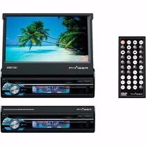 Dvd Retrátil 7 Phaser Ard7201 Usb Touchscreen Mp3 + Brinde