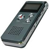 Gravador De Voz Espião Digital 8gb Escuta Chamada Telefônica