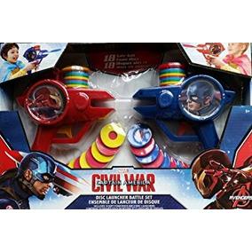 Juguete Marvel Capitán América - Disco Civil Guerra Lanzado
