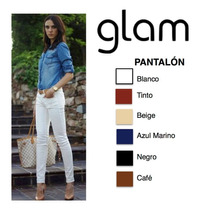 Pantalon Elegante Vestir Con Strech Poliester Cinto Gratis.