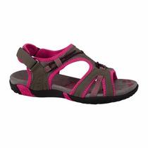 Sandalias Agua Todo Terreno Gris Pink Outdoor Suela Tenis