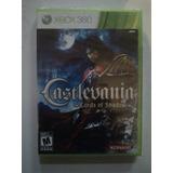 Castlevania Lords Of Shadow Xbox 360 Nuevo