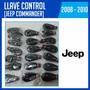 Llave Control Jeep Commander 2008-2009-2010