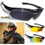 Óculos Tático Militar Swat Sniper Exército Completo 3 Lentes