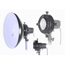 Refletor Beauty Dish Com Adaptador Universal P Flash Estúdio