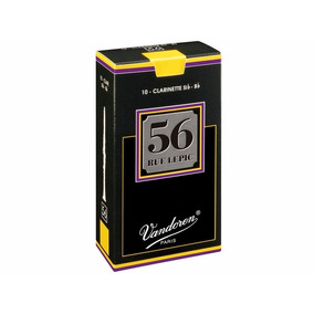 Caña Para Clarinete Vandoren 56 #3.1/2, #3.1/2+