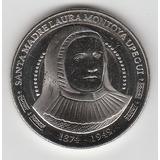 Moneda De Colombia De La Madre Laura De 5000 Pesos 2015