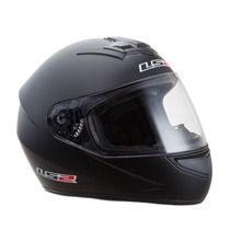 Casco Integral Ls2 Ff 352 Single Mono Matt Black- Eccomotor