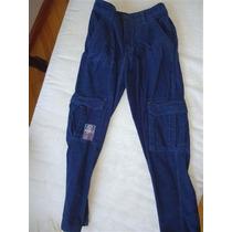 Pantalón Corderoy Tipo Cargo Impecable 14 Años Mimo