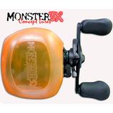 Capa Carretilha Protetora Direita X-bubble Monster3x Laranja