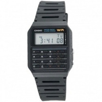 Relógio Casio Calculadora Ca-53-w1 Alarme Cronômetro