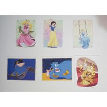 Lote 4 Figurinhas Do Album Princesas Para Sempre