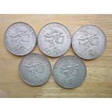 25 Pesos Moneda Olimpiada Mexico1968 Aro Bajo Plata Ley .720