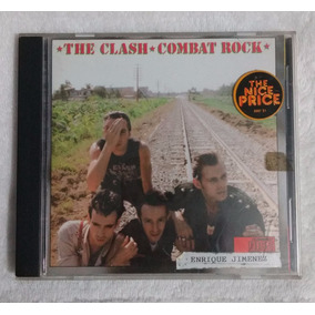 Cd The Clash (combat Rock) Importado New York