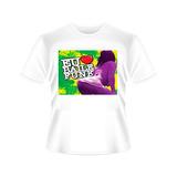 Camiseta Eu Amo Baile Funk Tradicional Ou Babylook